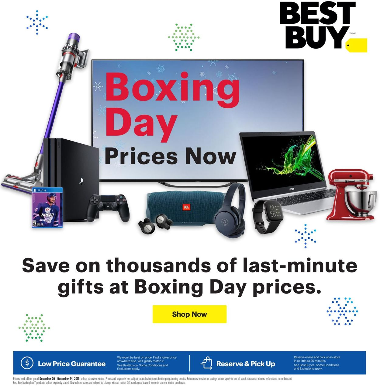 Best Buy - BOXING DAY 2019 SALE Flyer - 12/20-12/24/2019