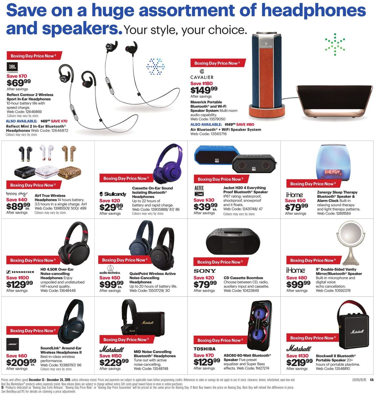 Best Buy - BOXING DAY 2019 SALE Flyer - 12/20-12/24/2019 (Page 9)