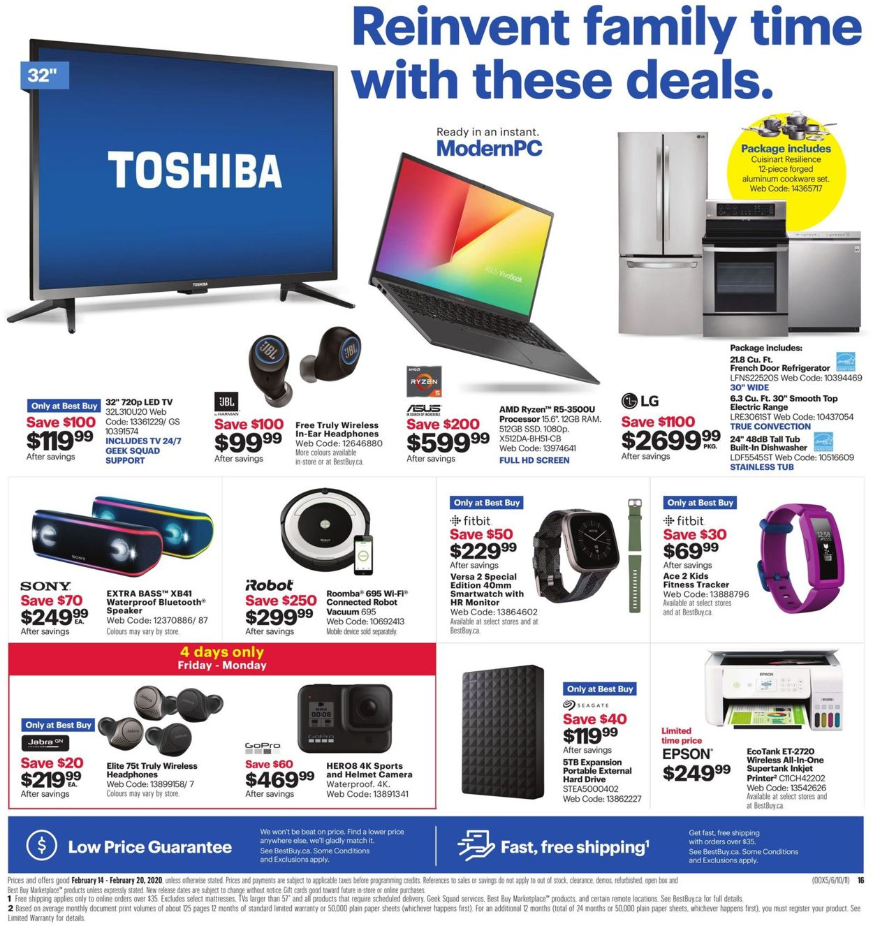 Best Buy Flyer - 02/14-02/20/2020 (Page 3)