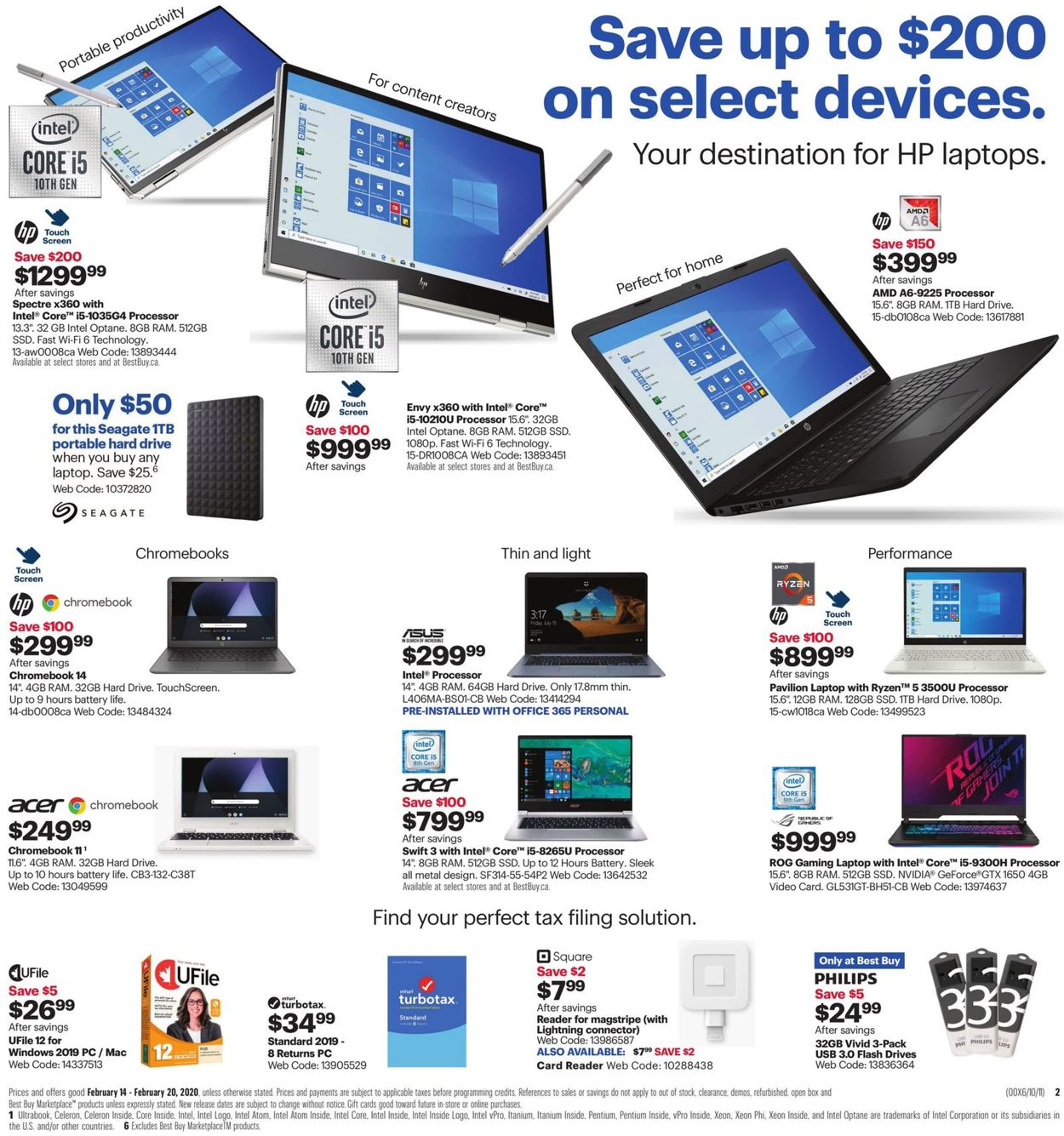 Best Buy Flyer - 02/14-02/20/2020 (Page 4)