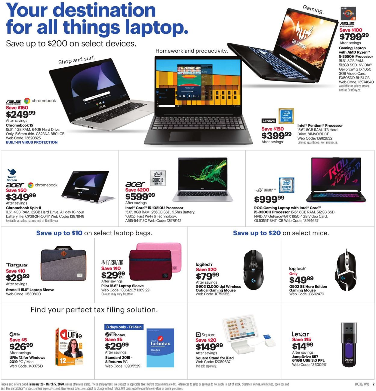 Best Buy Flyer - 02/28-03/05/2020 (Page 4)