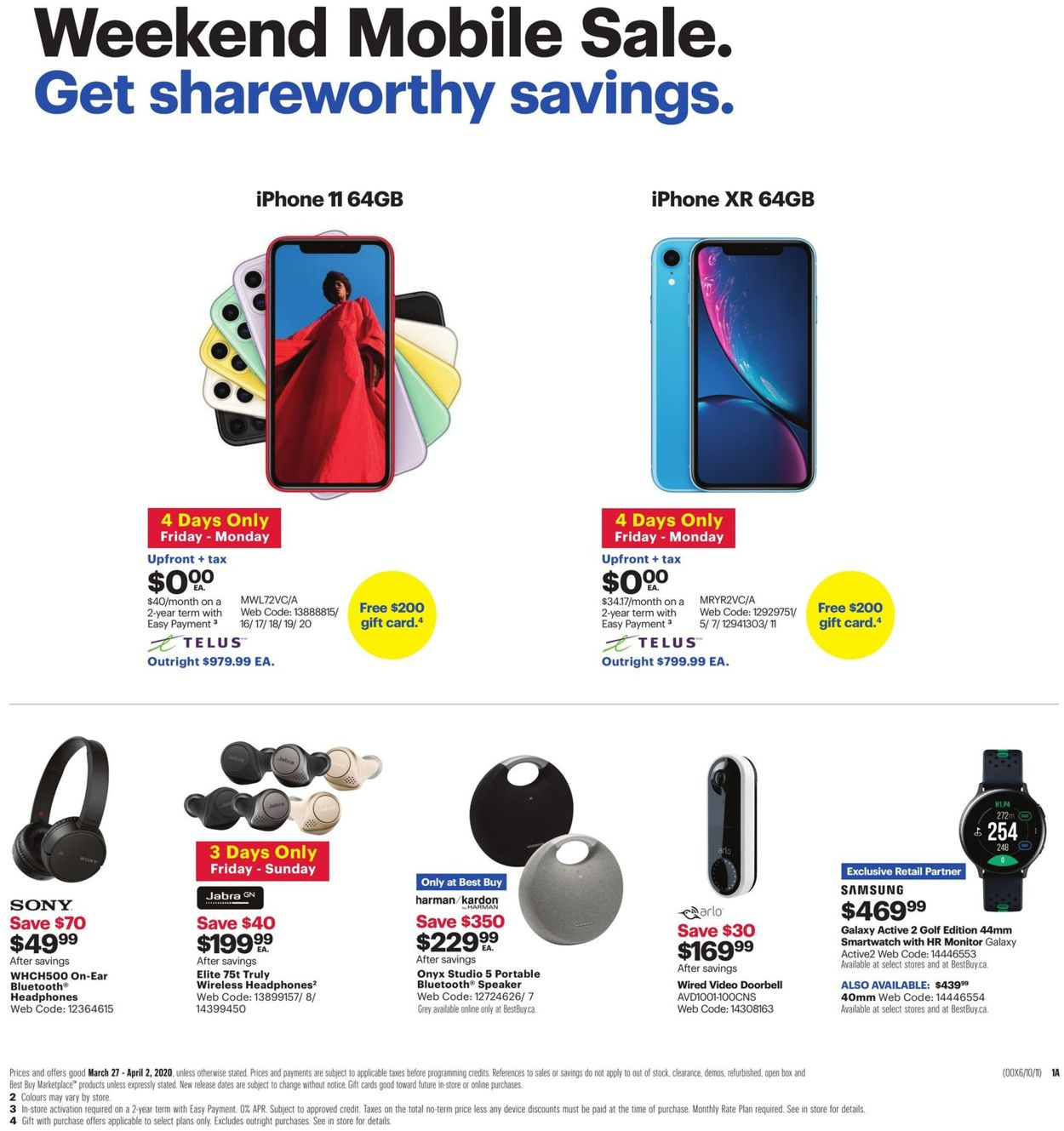 Best Buy Flyer - 03/27-04/02/2020 (Page 2)
