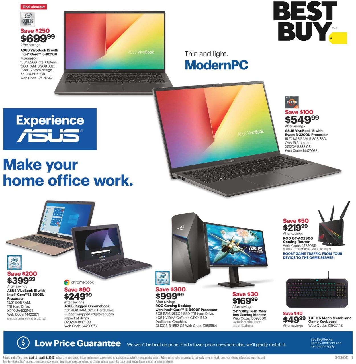 Best Buy Flyer - 04/03-04/09/2020