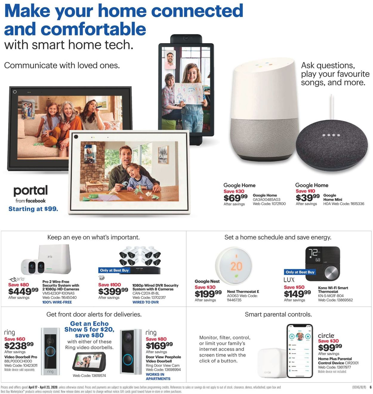 Best Buy Flyer - 04/17-04/23/2020 (Page 3)