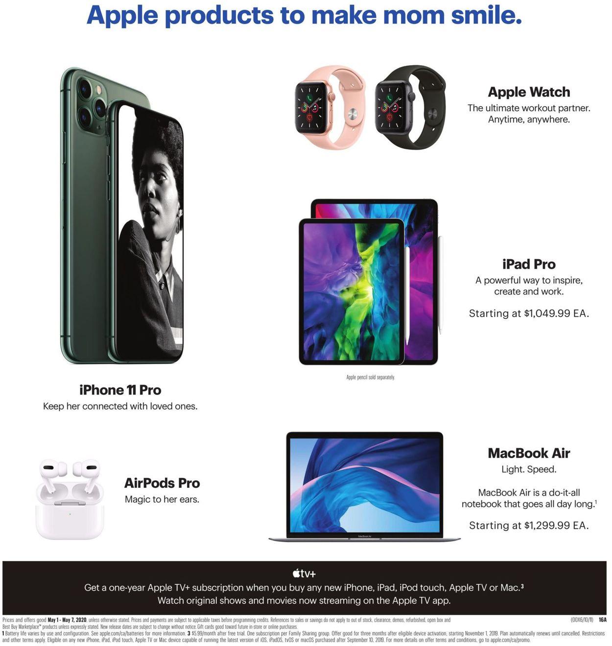 Best Buy Flyer - 05/01-05/07/2020