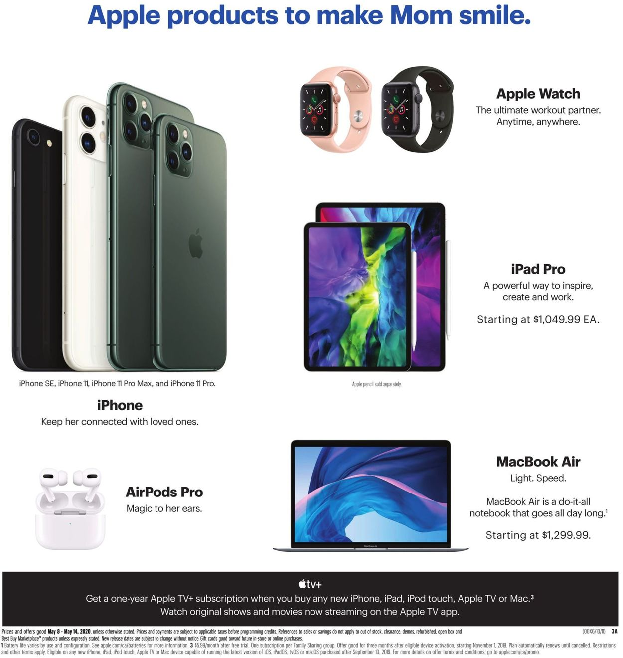 Best Buy Flyer - 05/08-05/14/2020