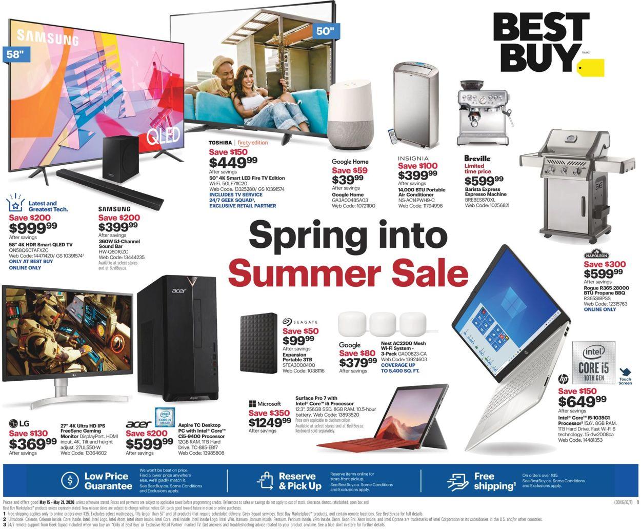 Best Buy Flyer - 05/15-05/21/2020