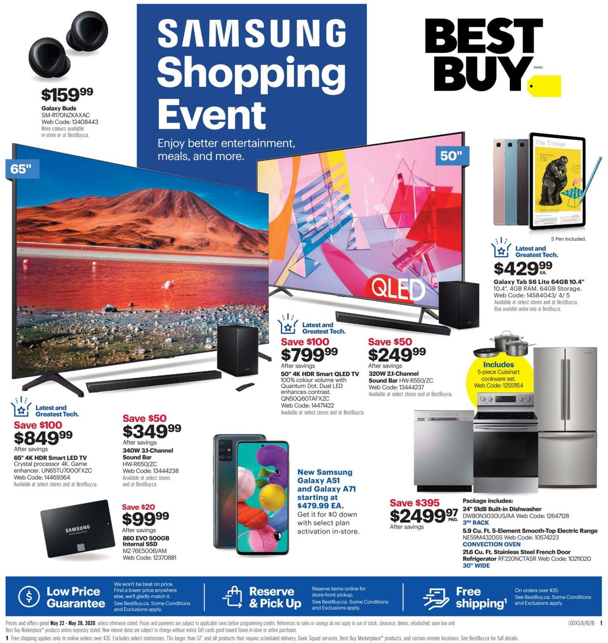 Best Buy Flyer - 05/22-05/28/2020