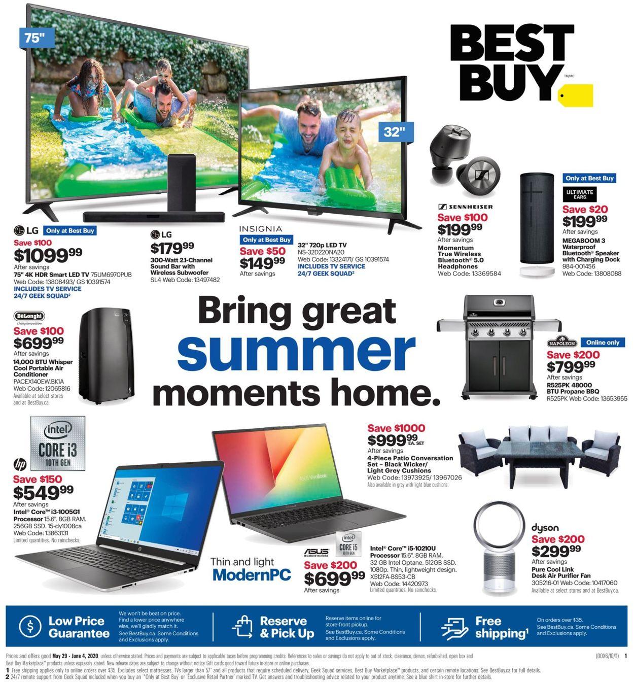 Best Buy Flyer - 05/29-06/04/2020