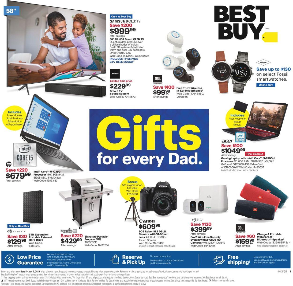 Best Buy Flyer - 06/05-06/11/2020
