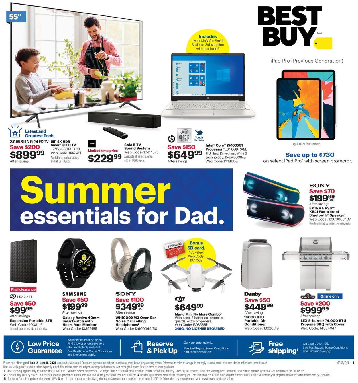 Best Buy Flyer - 06/12-06/18/2020