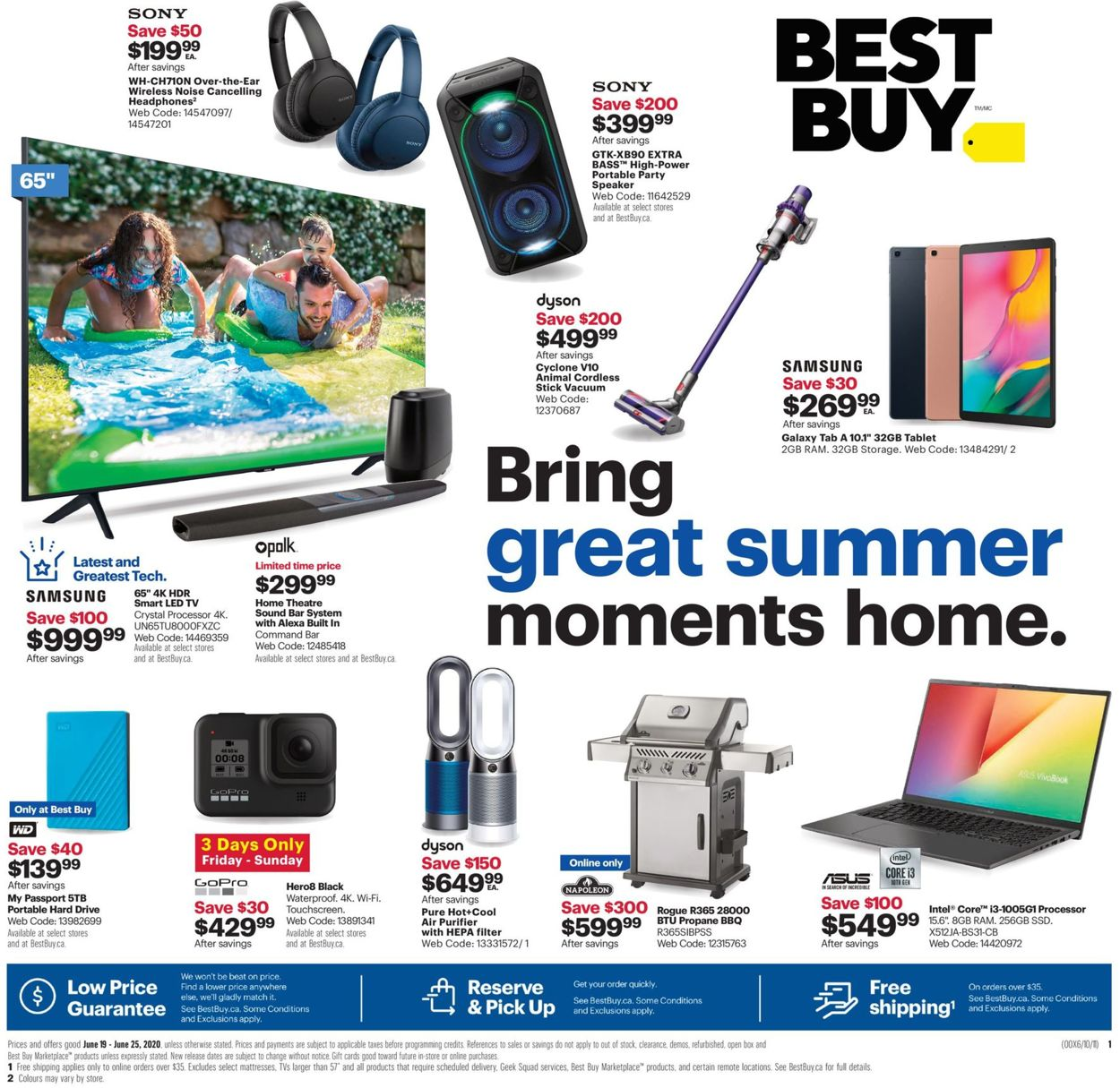 Best Buy Flyer - 06/19-06/25/2020