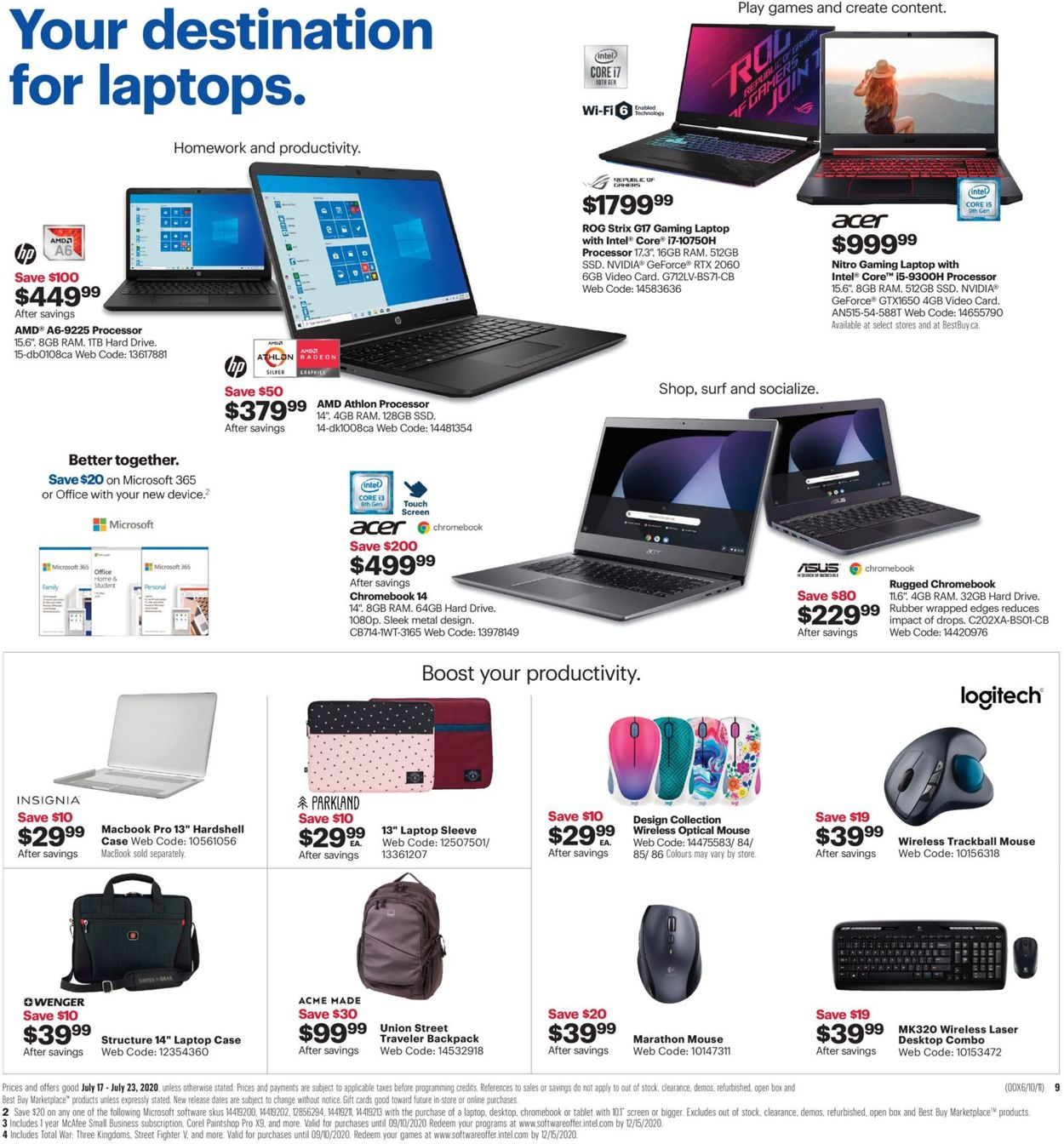 Best Buy Flyer - 07/17-07/23/2020 (Page 14)