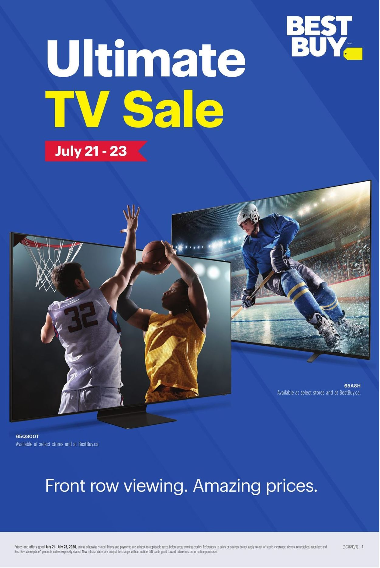Best Buy Flyer - 07/21-07/23/2020