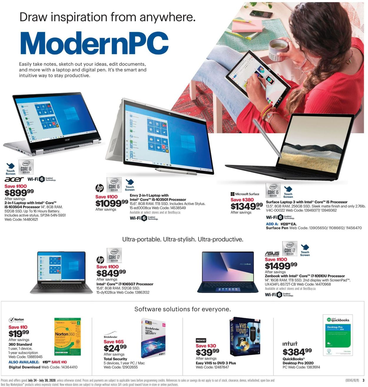 Best Buy Flyer - 07/24-07/30/2020 (Page 7)
