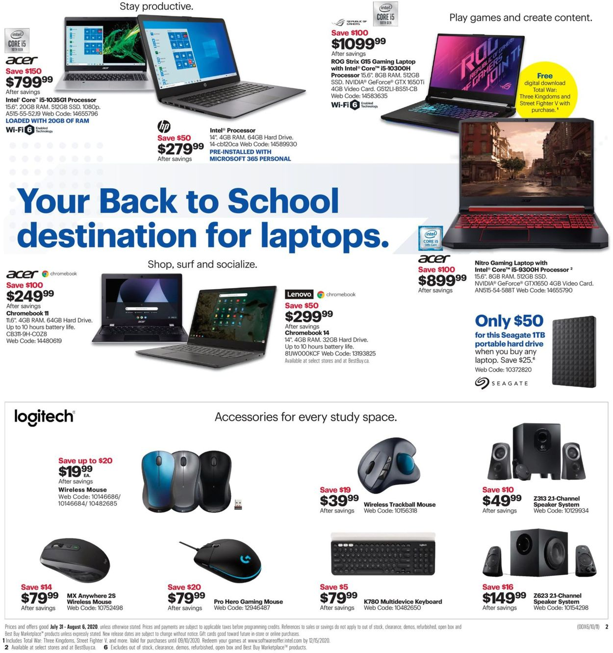 Best Buy Flyer - 07/31-08/06/2020 (Page 5)
