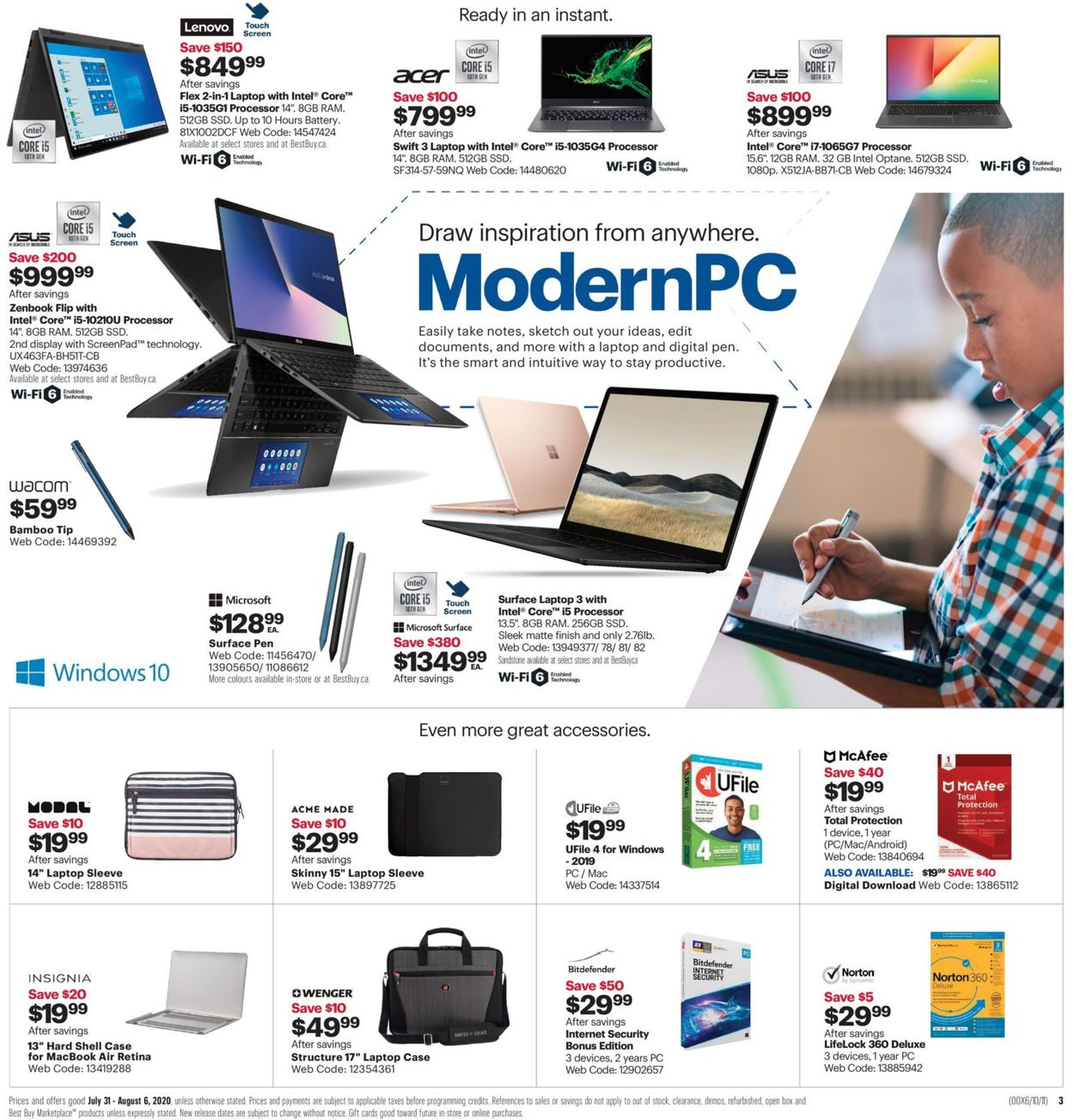 Best Buy Flyer - 07/31-08/06/2020 (Page 6)