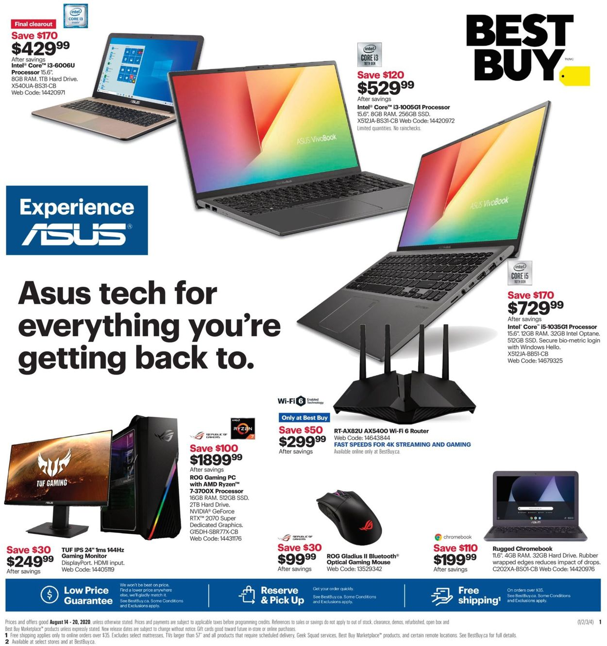 Best Buy Flyer - 08/14-08/20/2020