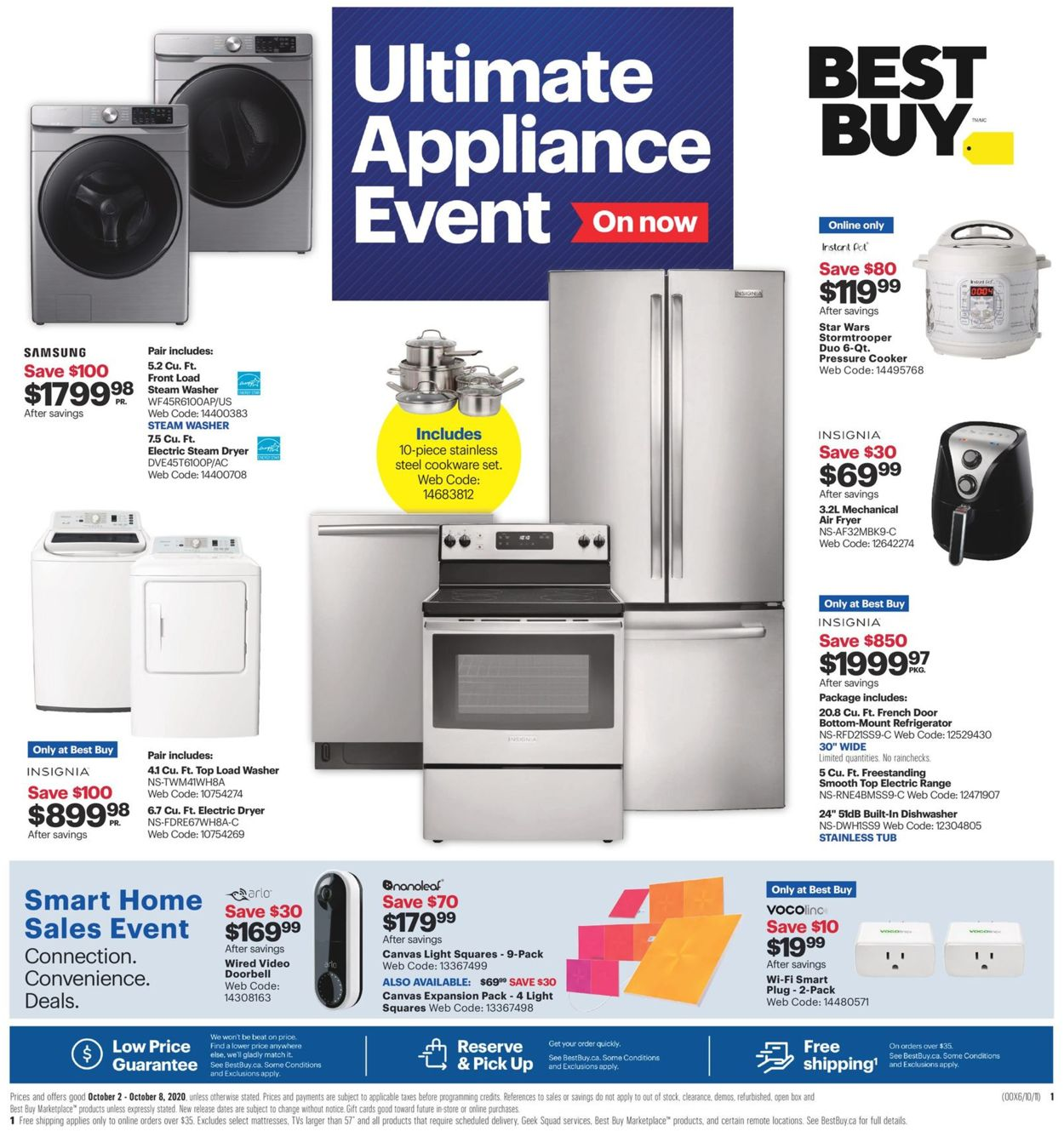Best Buy Flyer - 10/02-10/08/2020