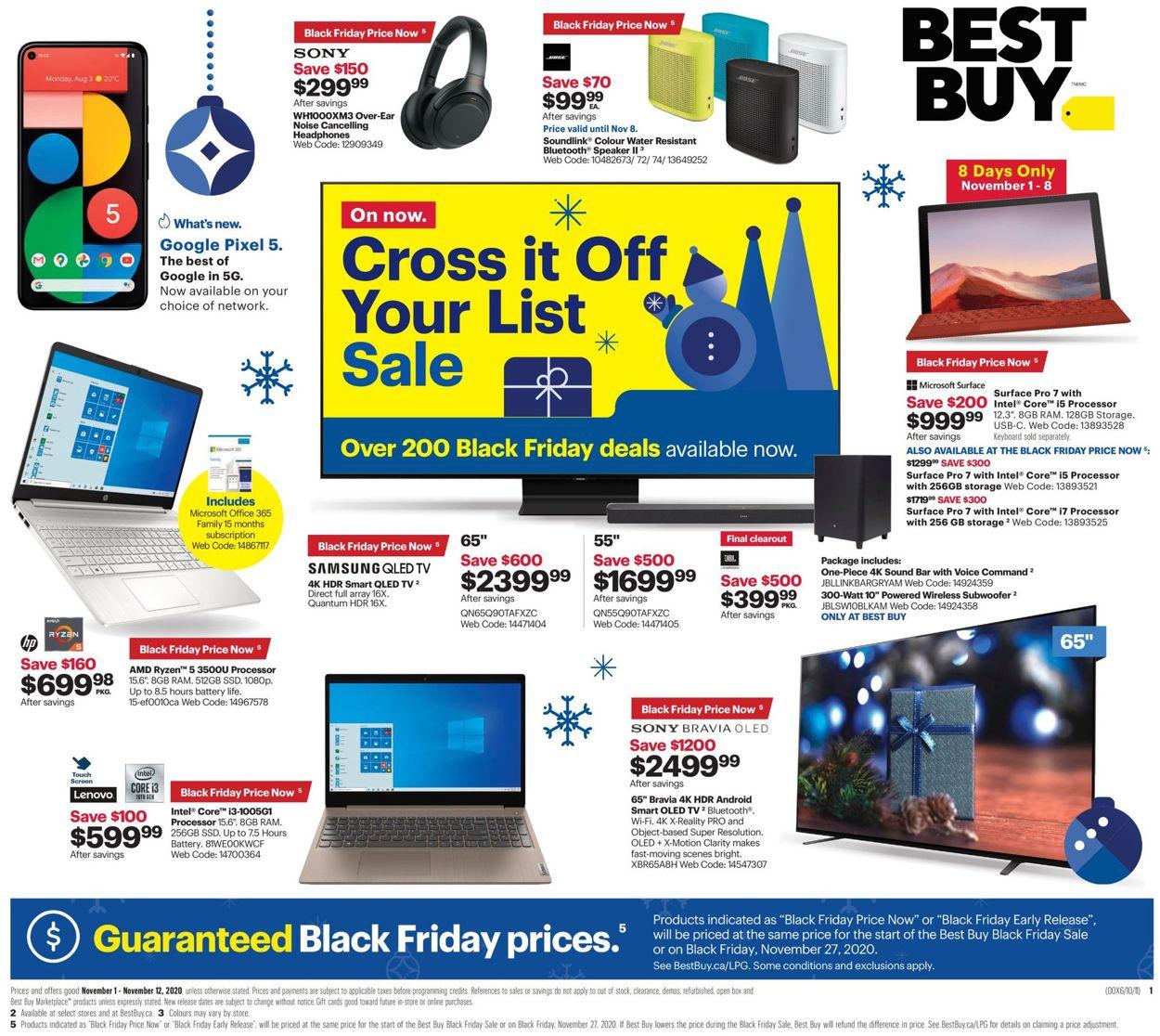 Best Buy - Black Friday 2020 Flyer - 11/01-11/12/2020