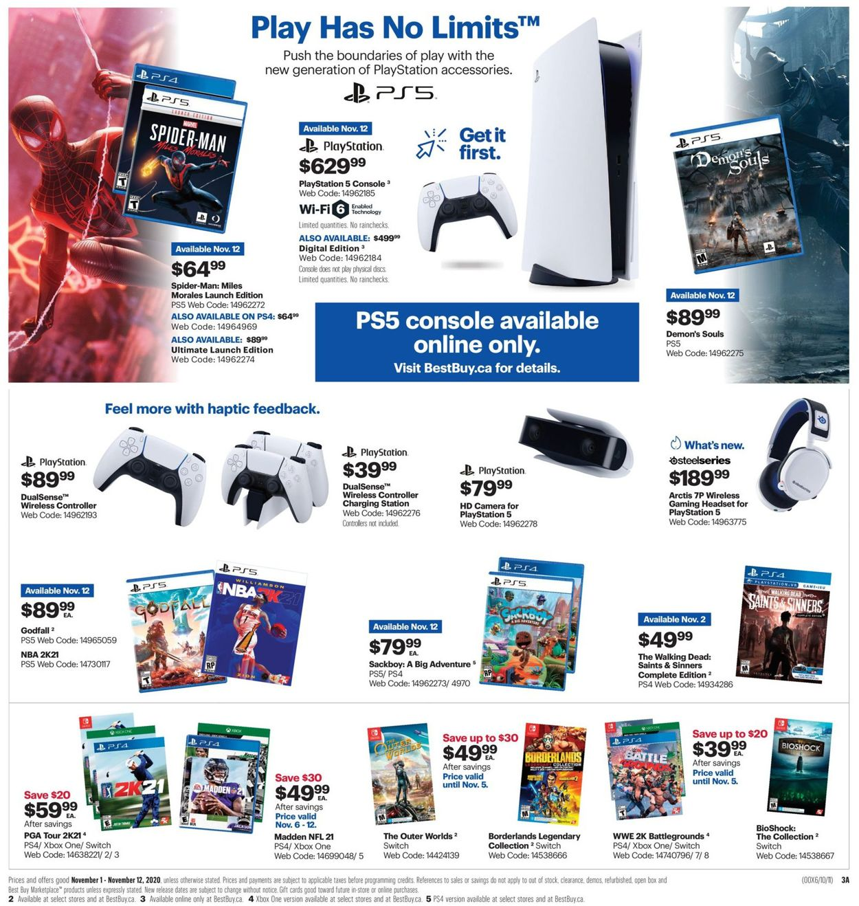 Best Buy - Black Friday 2020 Flyer - 11/01-11/12/2020 (Page 8)