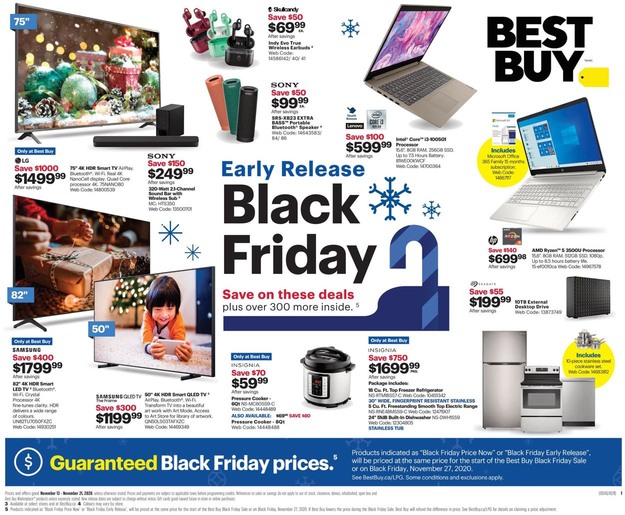 Best Buy - Black Friday 2020 Flyer - 11/13-11/21/2020