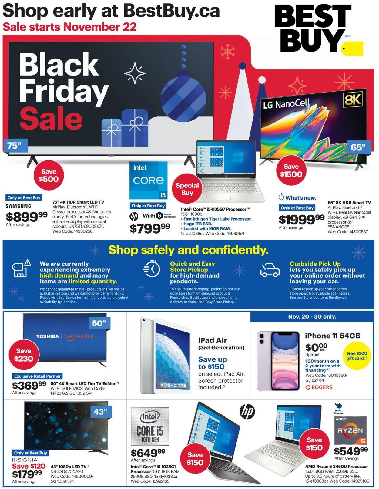Best Buy - Black Friday 2020 Flyer - 11/22-12/03/2020