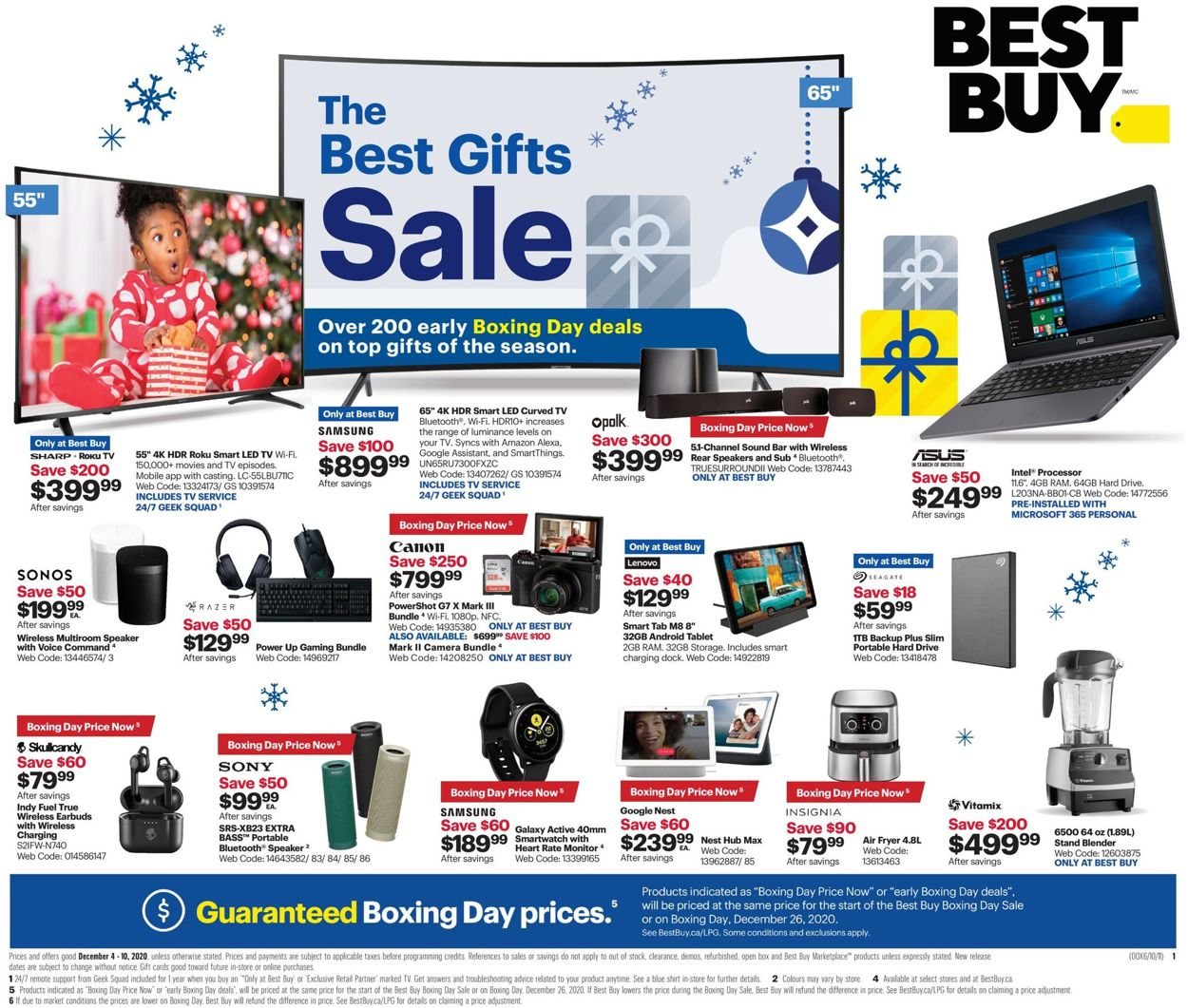 Best Buy - Early Boxing Day Flyer - 12/04-12/10/2020