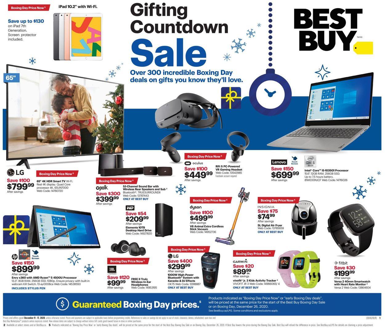 Best Buy - Christmas 2020 Flyer - 12/11-12/17/2020