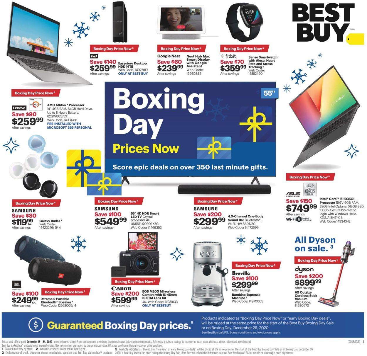 Best Buy - Boxing Day 2020 Flyer - 12/18-12/24/2020