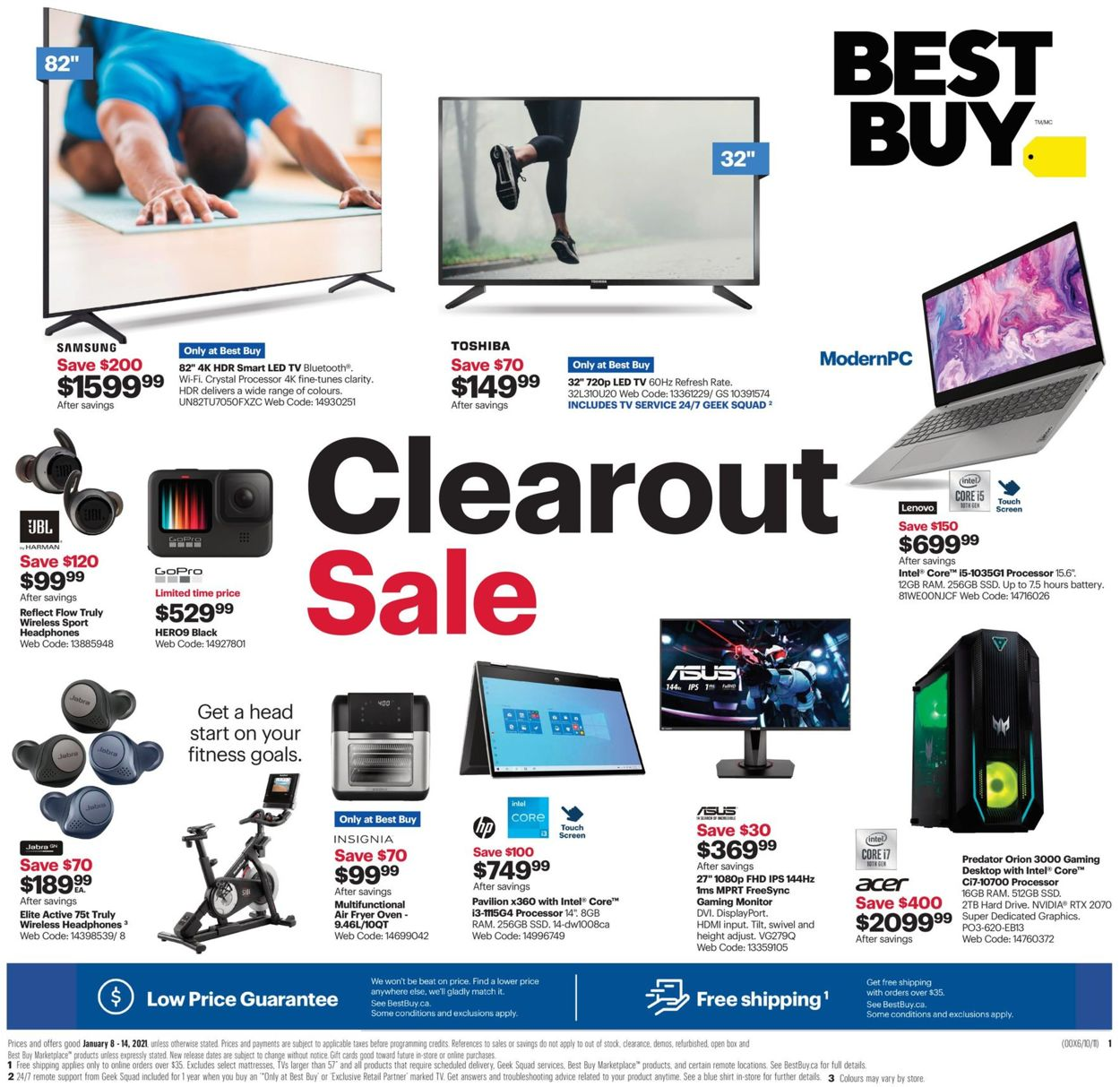 Best Buy Flyer - 01/08-01/14/2021