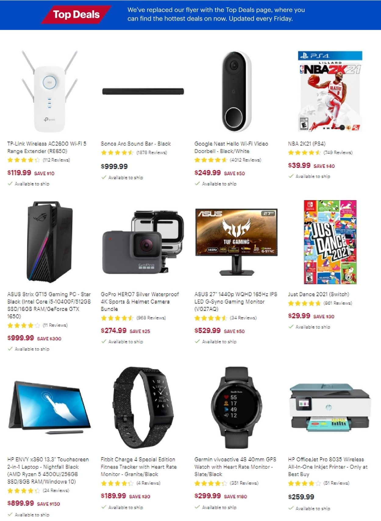 Best Buy Flyer - 02/12-02/18/2021 (Page 4)