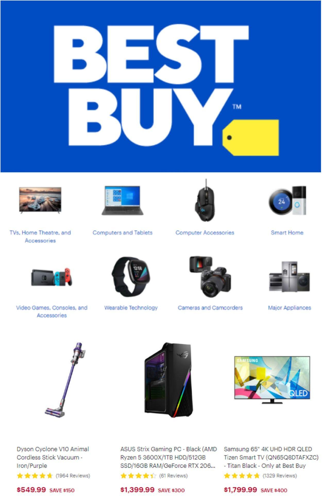 Best Buy Flyer - 02/26-03/04/2021