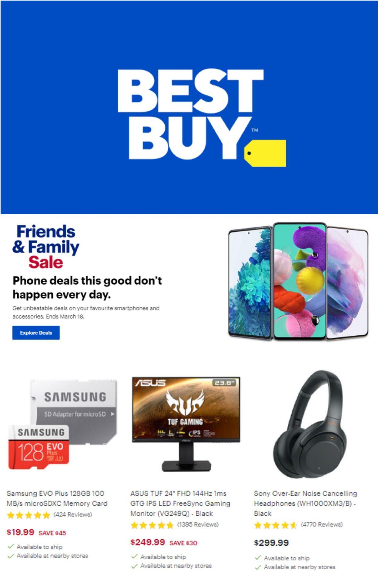 Best Buy Flyer - 03/12-03/18/2021