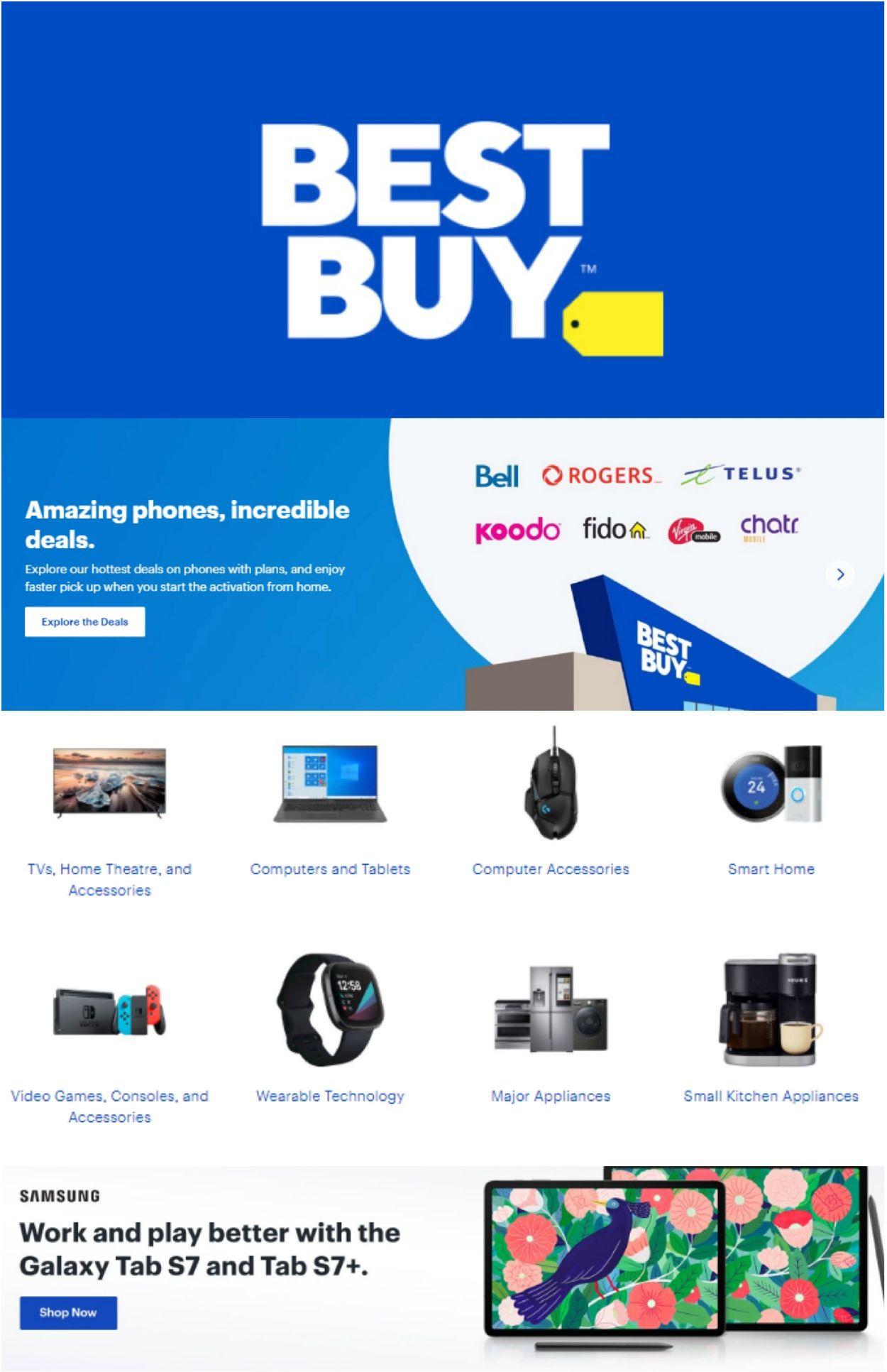 Best Buy Flyer - 03/26-04/01/2021