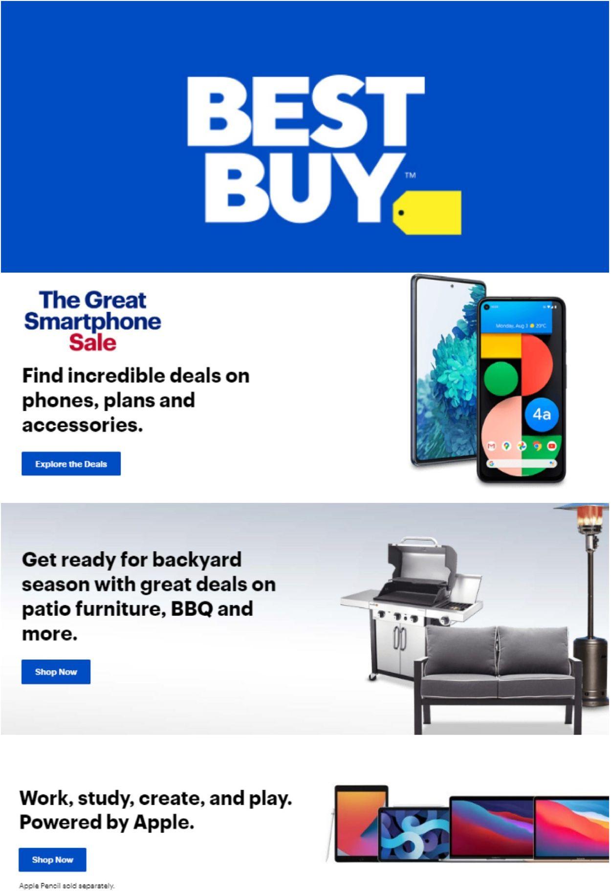 Best Buy Flyer - 04/02-04/08/2021