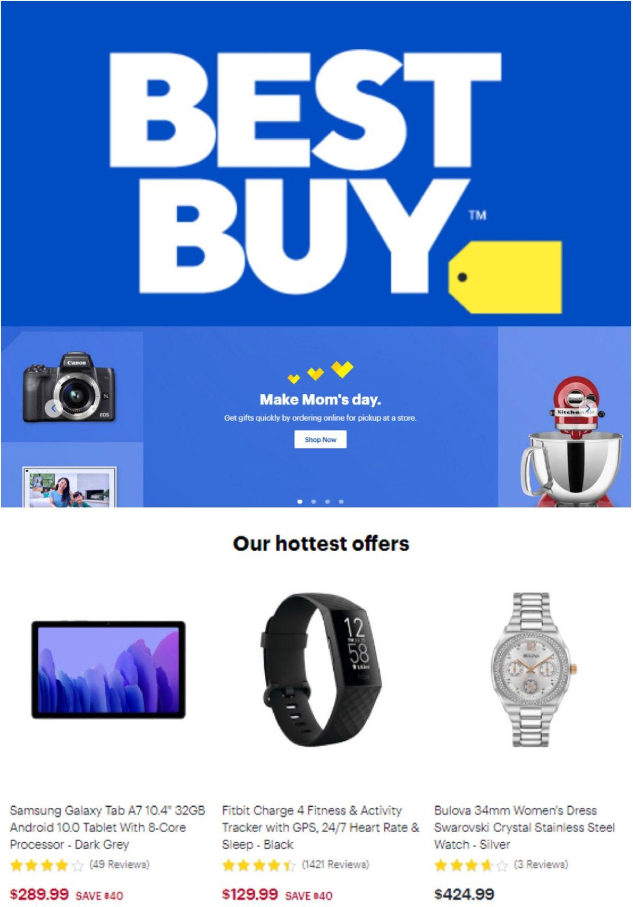 Best Buy Flyer - 05/07-05/13/2021