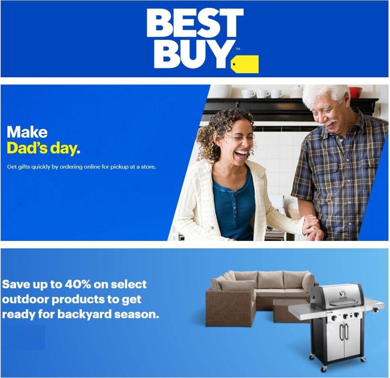Best Buy Flyer - 06/18-06/24/2021