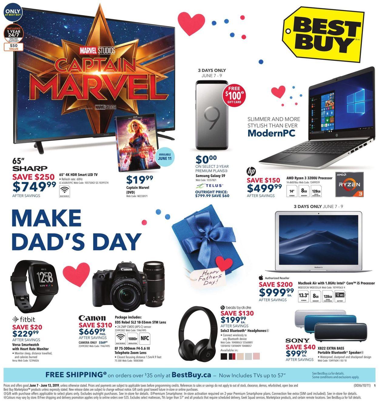 Best Buy Flyer - 06/07-06/13/2019