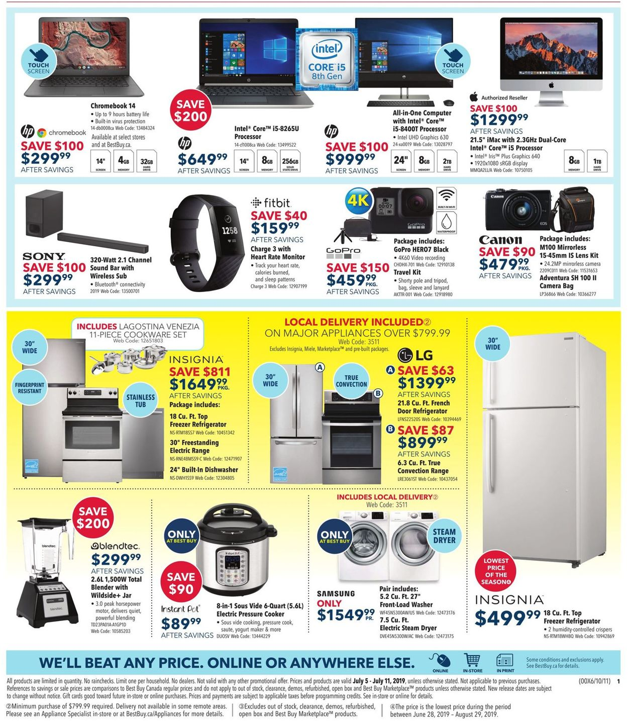 Best Buy Flyer - 07/05-07/11/2019 (Page 3)
