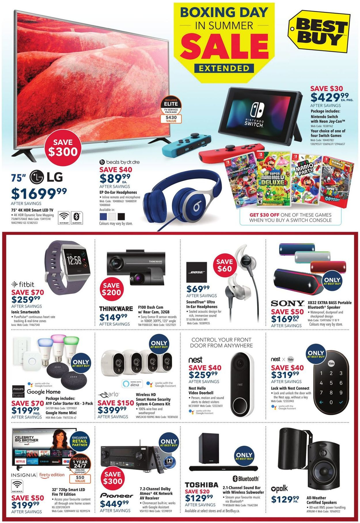 Best Buy Flyer - 07/05-07/11/2019 (Page 4)