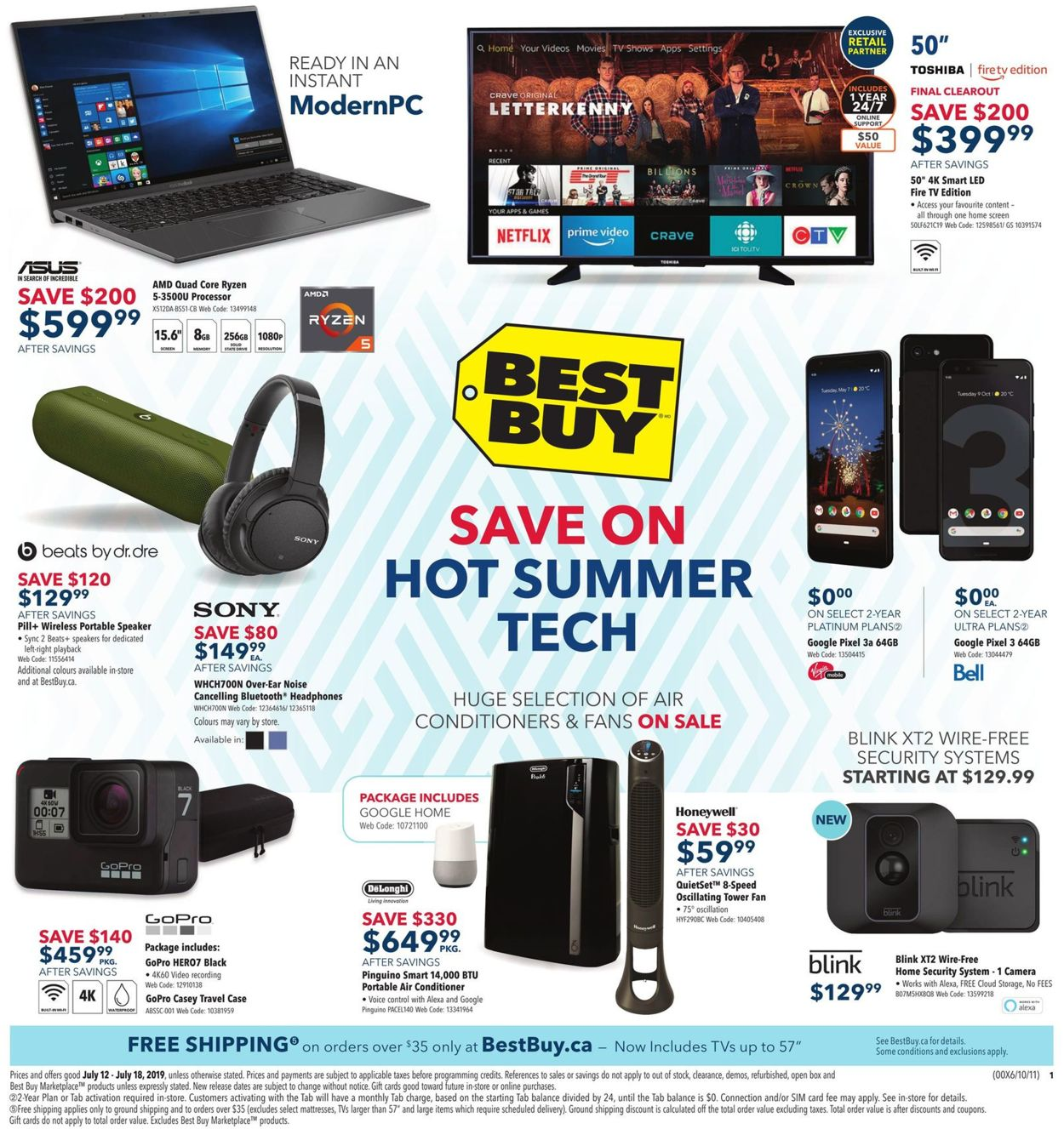 Best Buy Flyer - 07/12-07/18/2019