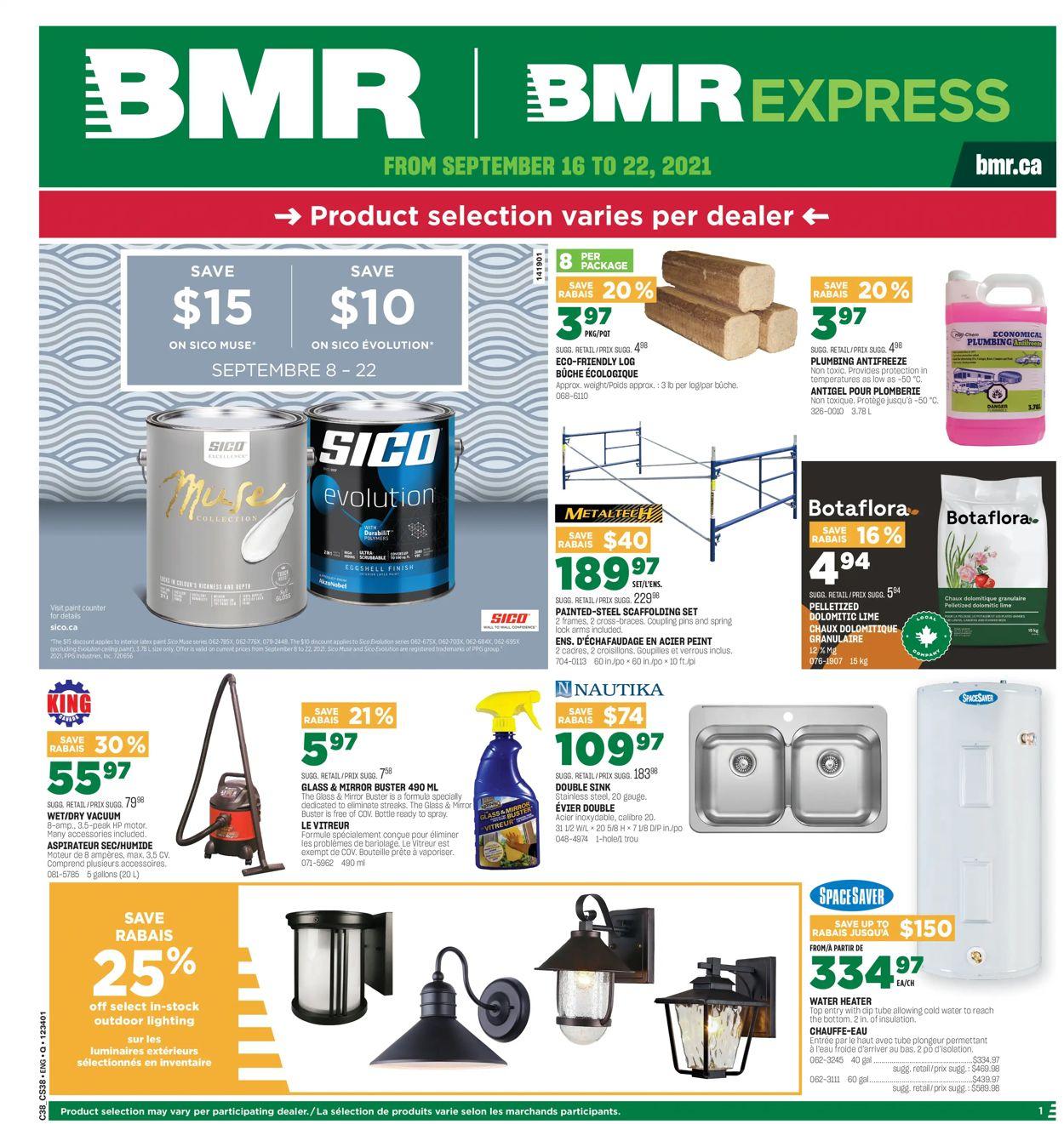 BMR Flyer - 09/16-09/22/2021