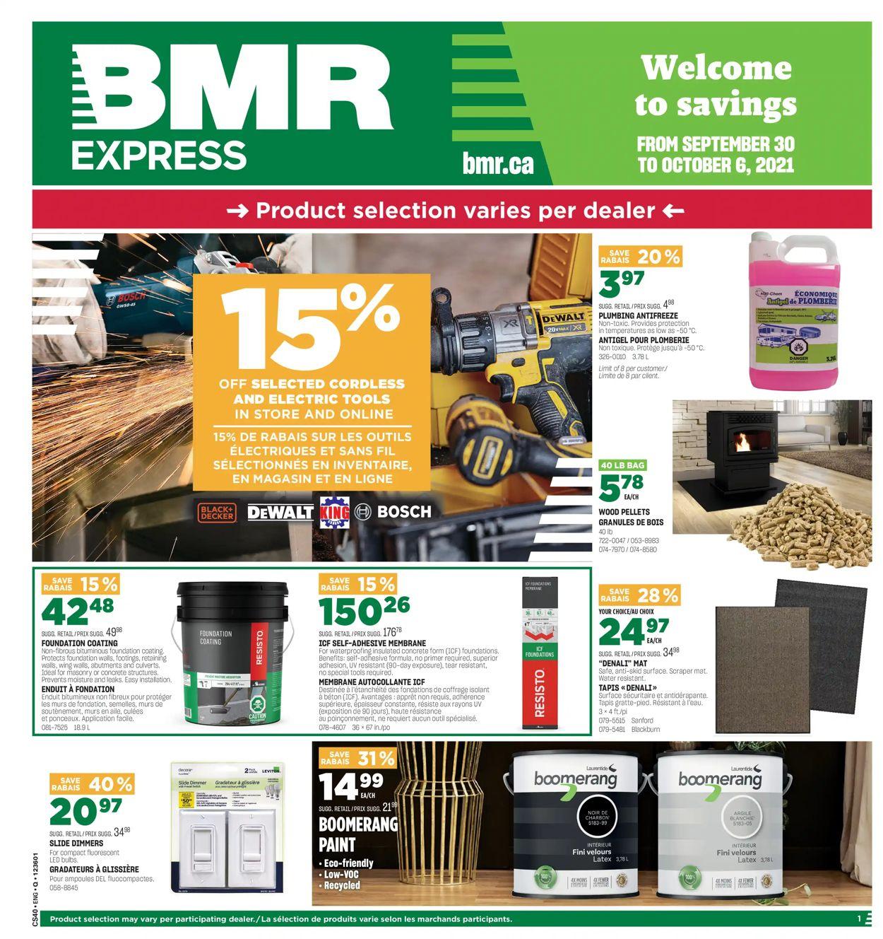 BMR Flyer - 09/30-10/06/2021