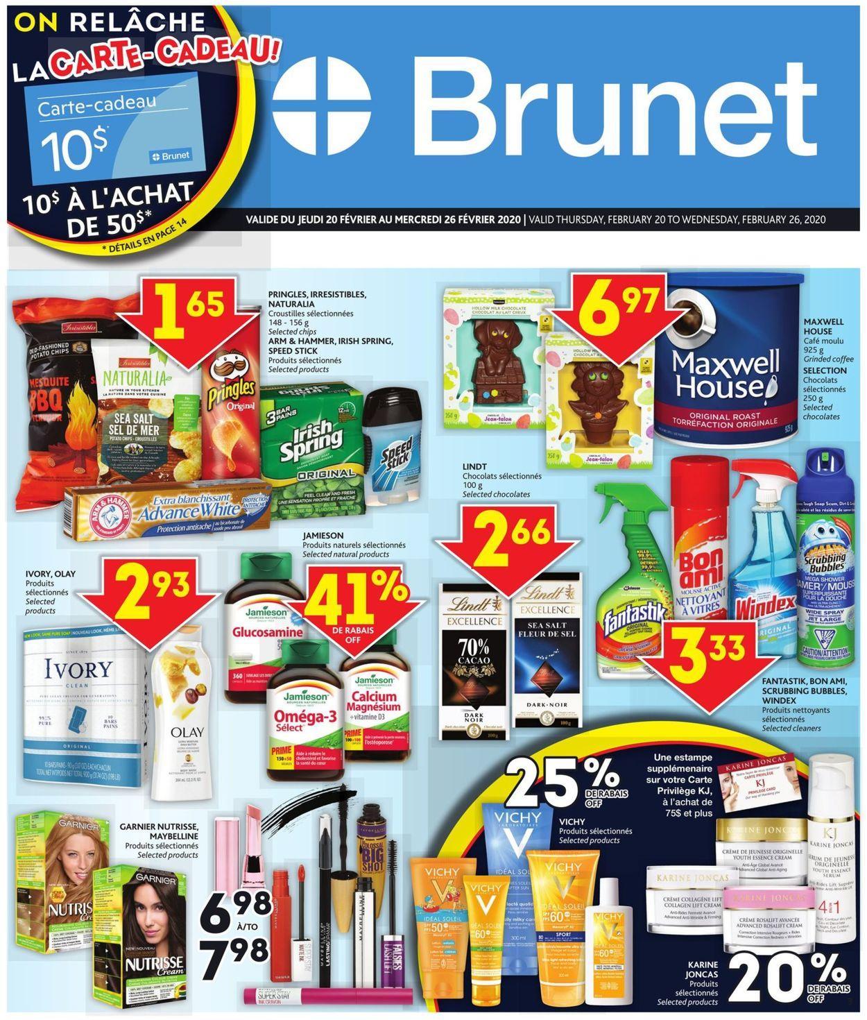 Brunet Flyer - 02/20-02/26/2020