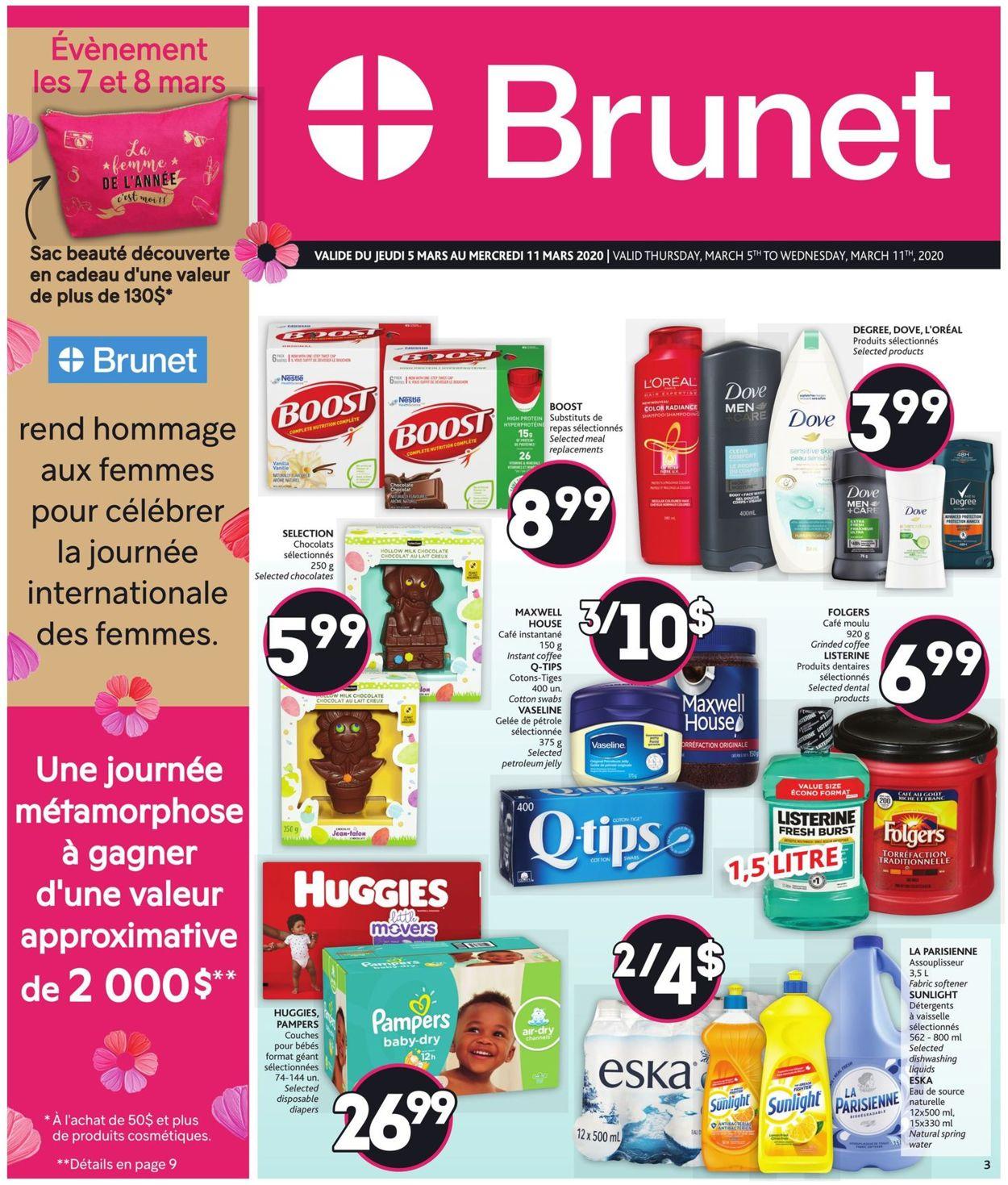 Brunet Flyer - 03/05-03/11/2020