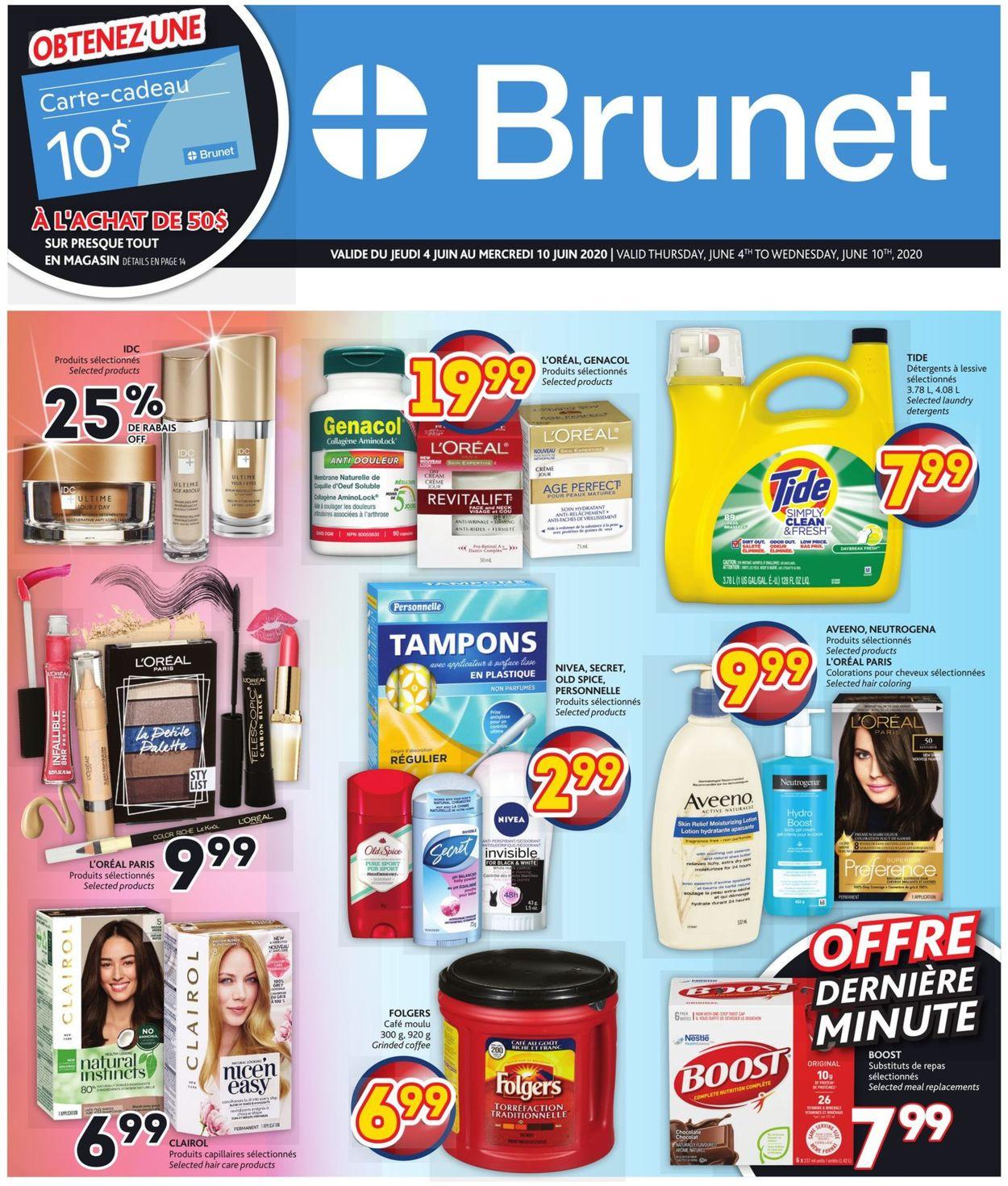 Brunet Flyer - 06/04-06/10/2020