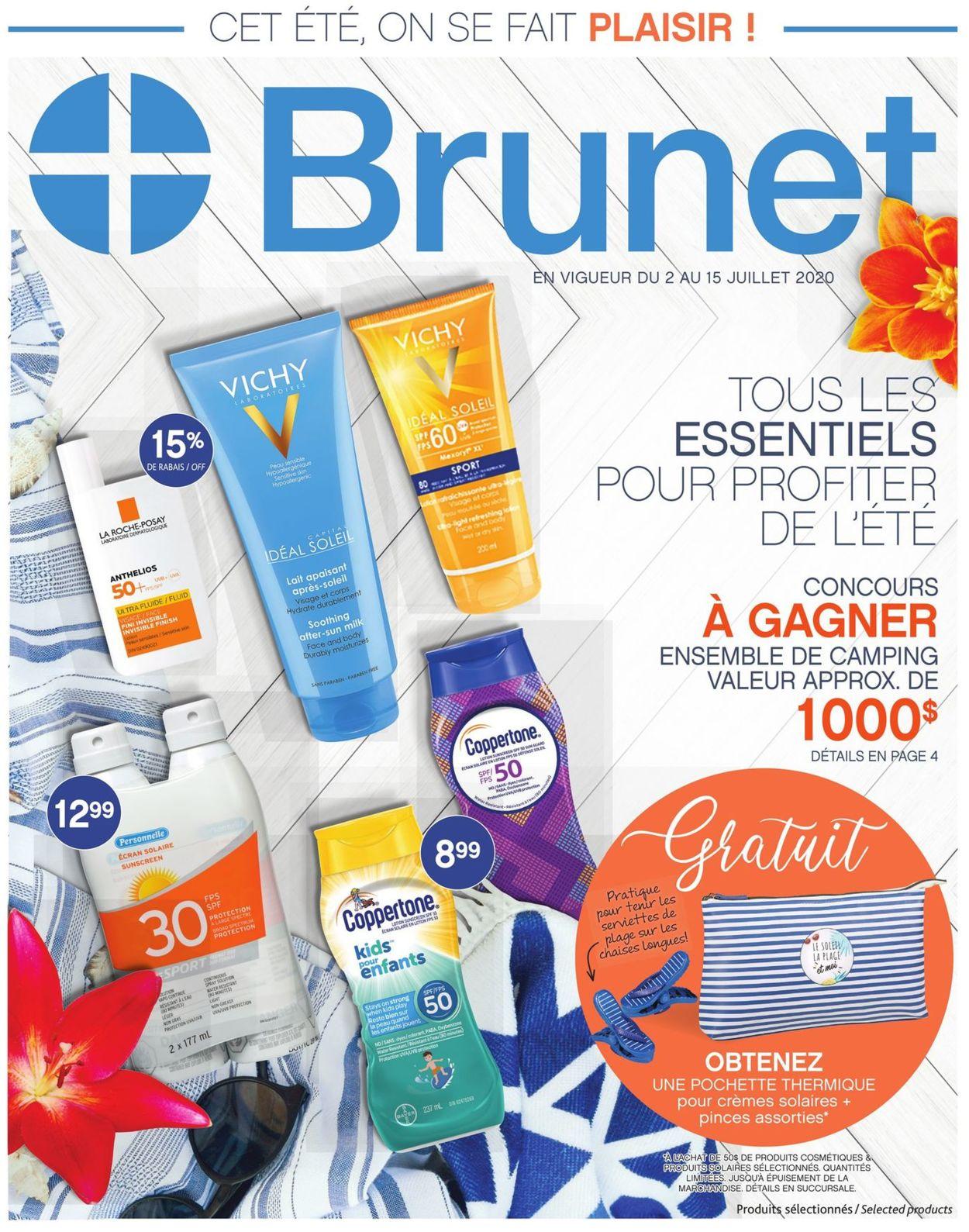 Brunet Flyer - 07/02-07/15/2020