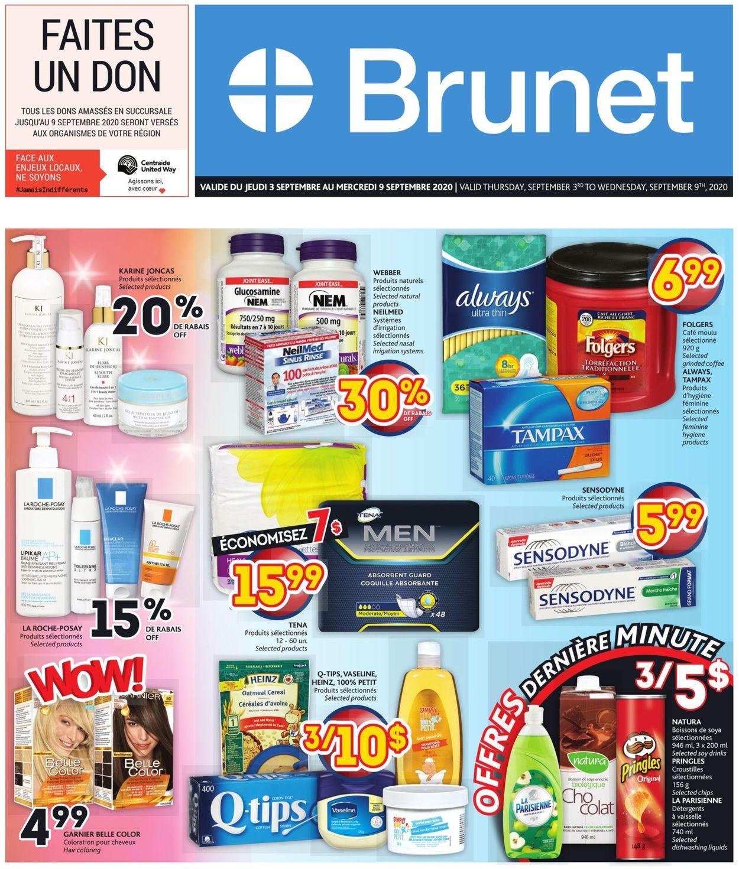 Brunet Flyer - 09/03-09/09/2020