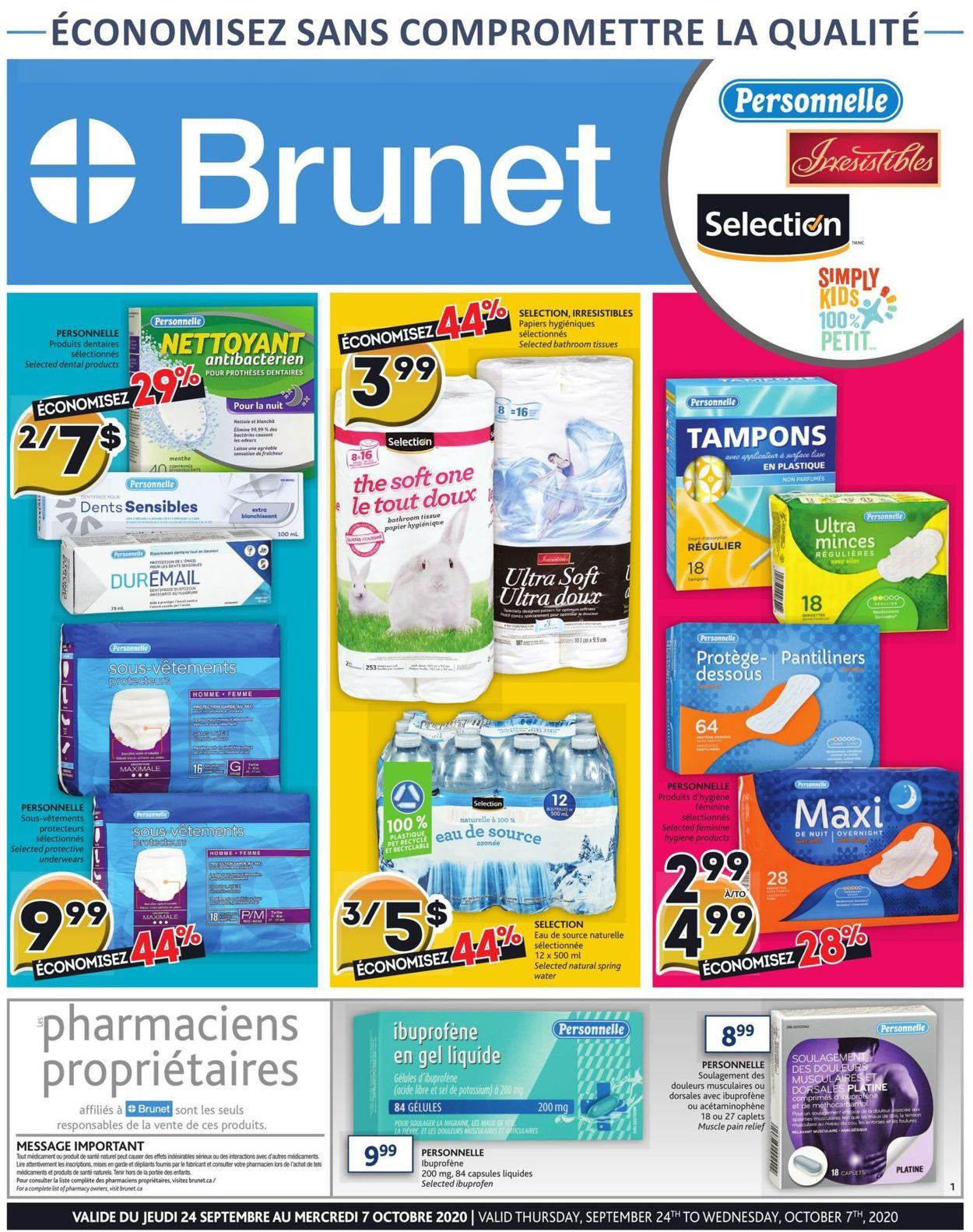 Brunet Flyer - 09/24-10/07/2020